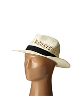 San Diego Hat Company - PBF7004 Woven Paper Fedora w/ Vented Crown