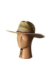 San Diego Hat Company - RSM581 Rush Straw Lifeguard w/ Band and Chin Cord
