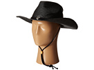 San Diego Hat Company PBC1030 Woven Paper Straw Cowboy w/ Chin Cord and Metal Trim