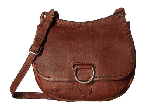 Frye Amy Crossbody - Cognac Oiled Vintage Leather