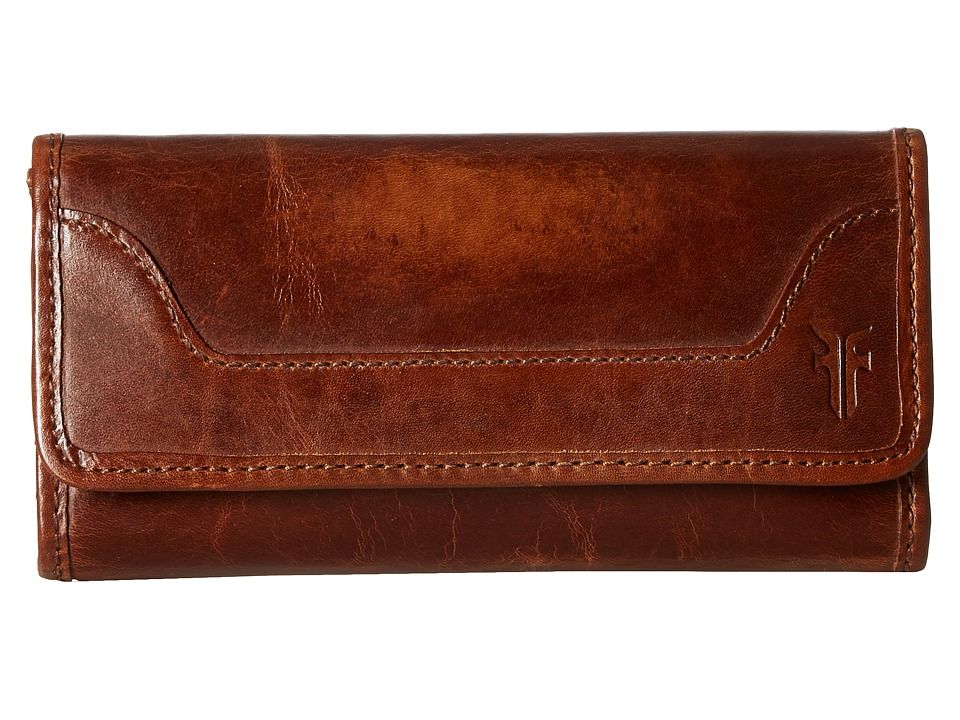 Frye - Melissa Wallet (Cognac Antique Pull Up) Wallet Handbags