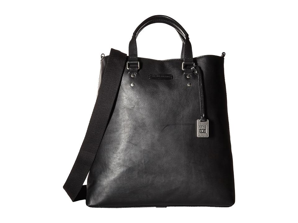 Frye - Ben Artisan Tote (Black Tumlbed Full Grain) Tote Handbags