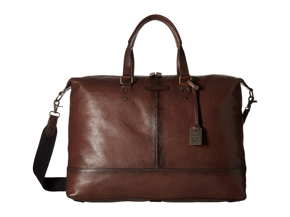 Frye - Ben Artisan Duffel (Dark Brown Tumbled Full Grain) Duffel Bags