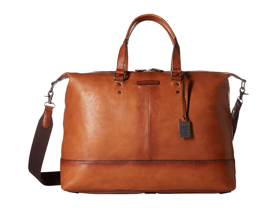 Frye - Ben Artisan Duffel (Whiskey Tumbled Full Grain) Duffel Bags