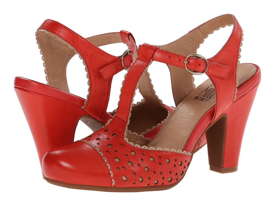 Miz Mooz - Nico Cherry Womens 1-2 inch heel Shoes $129.95 AT vintagedancer.com
