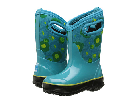 Bogs Kids Classic Watercolor (Toddler/Little Kid/Big Kid) - Turquoise Multi