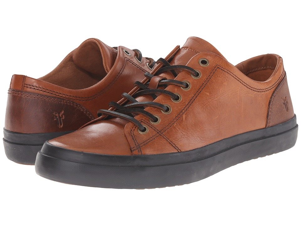 Frye Grand Low Lace (Cognac Smooth Vintage Leather) Men