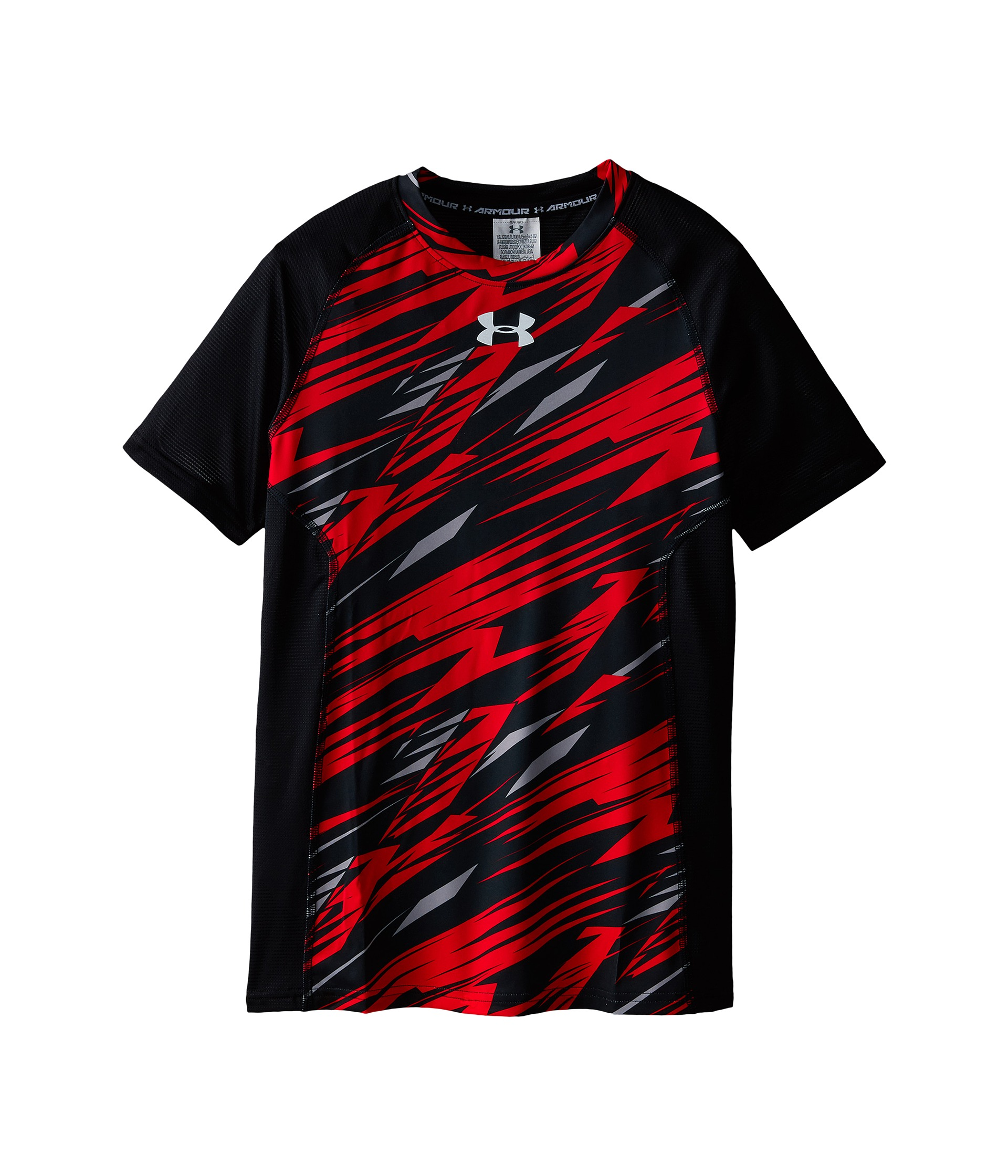 Under armour kids ua heatgear armour up printed short for Under armour shirts for kids