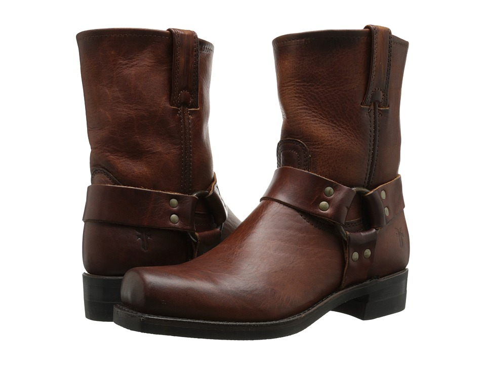 Frye - Harness 8R (Cognac Oiled Vintage) Men