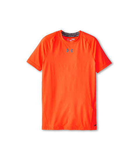 Under Armour Kids Heatgear® Armour® Fitted S/S Tee (Big Kids)