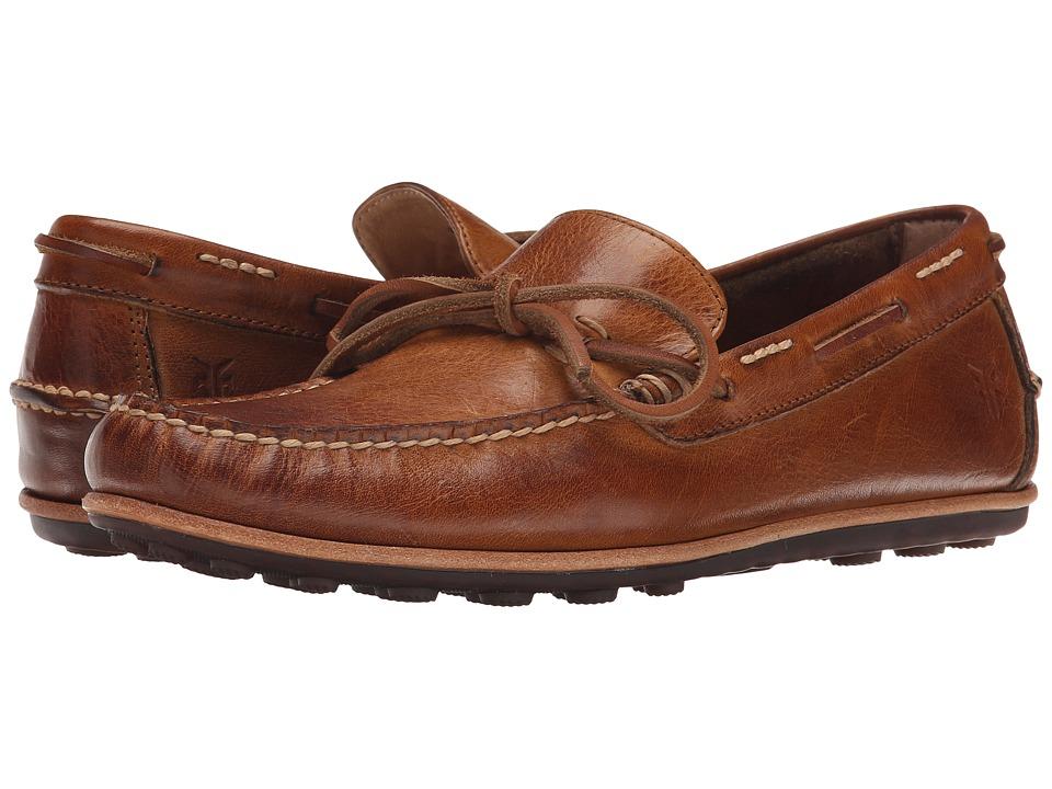 Frye - Harris Tie (Tan Antique Pull Up) Men