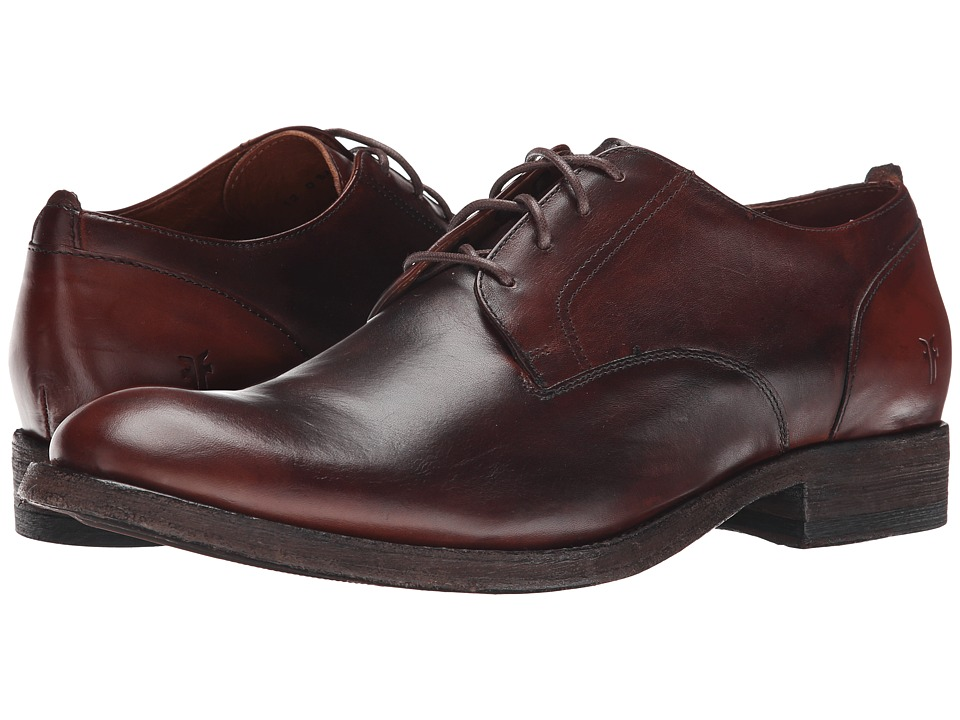 Frye - Jacob Oxford (Redwood Antiqued Full Grain) Men
