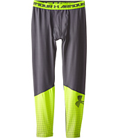 Under Armour Kids - UA Coldgear® Armour® Big Logo Fitted Legging (Big Kids)