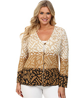 Pendleton - Plus Size Park Blocks Cardigan