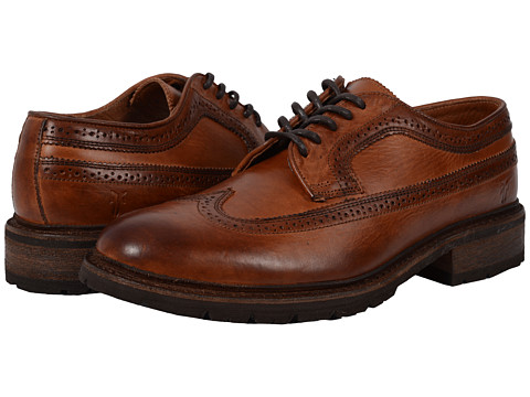 Frye James Lug Wingtip