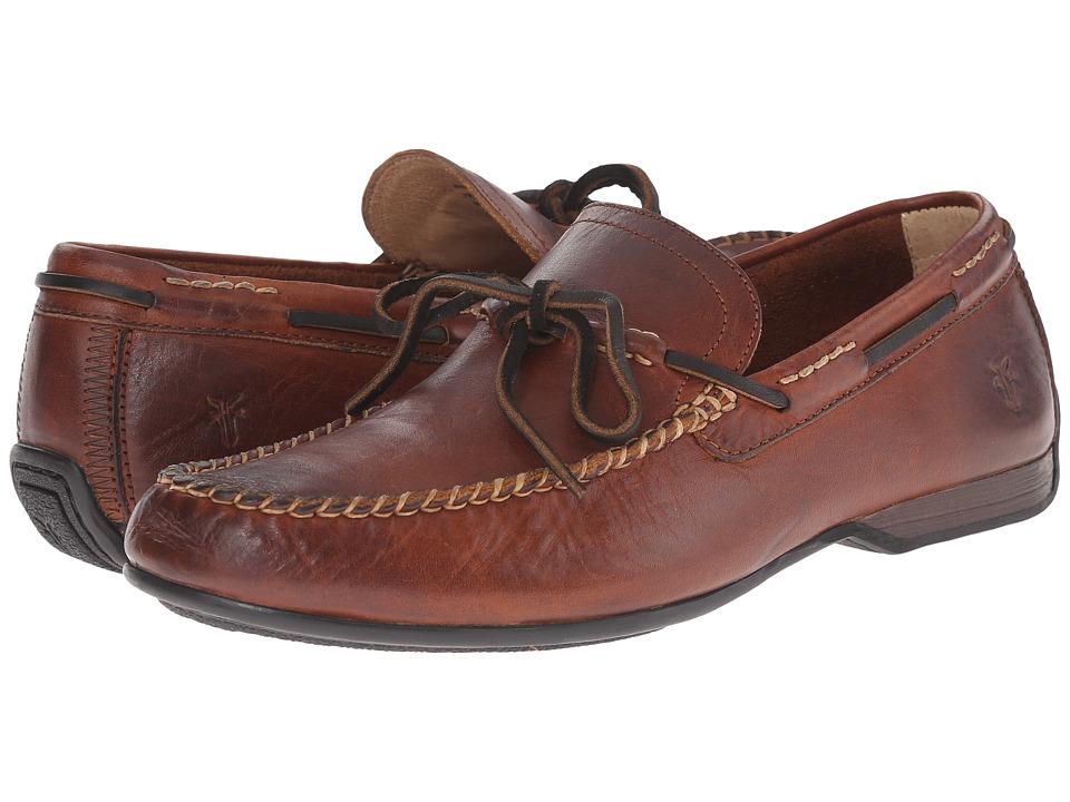 Frye - Lewis Tie (Cognac Oiled Vintage) Men