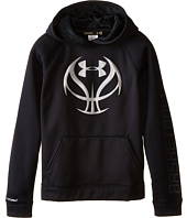 Under Armour Kids - UA Storm Armour® Fleece Basketball Logo Hoodie (Big Kids)