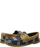 Sperry Top-Sider - A/O 2-Eye Tartan Plaid Fly Fish