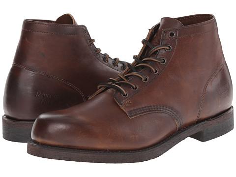 Frye Prison Boot - Dark Brown Oiled Vintage