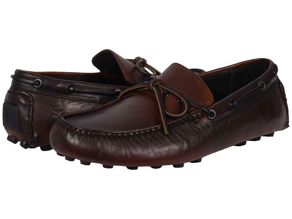 Frye - Russel Tie (Cognac Vintage Pull Up) Men