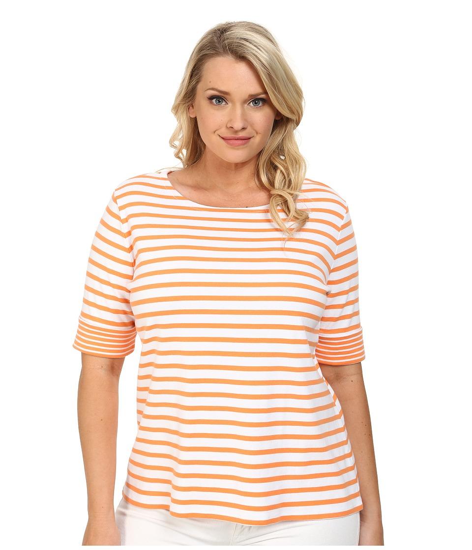 Orange Striped Shirt Stripe Women's t Shirt