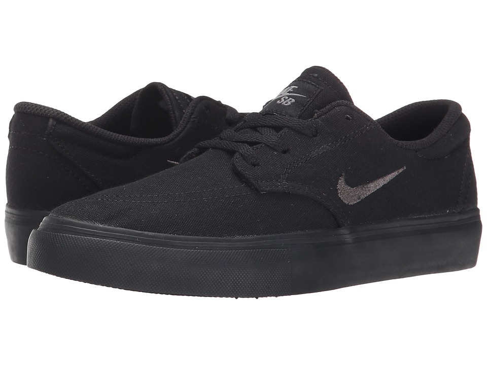 Nike SB Kids SB Clutch Big Kid Black/Dark Grey/Anthracite Boys Shoes