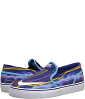 Nike SB Kids - Toki Slip-on Canvas Print (Big Kid)
