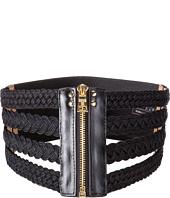 BCBGMAXAZRIA - Woven Waist Belt
