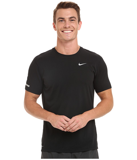 Nike dri fit contour s s running shirt free for Running dri fit shirts
