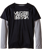 Under Armour Kids - Waffle 2-in-1 Long Sleeve T-Shirt (Big Kids)