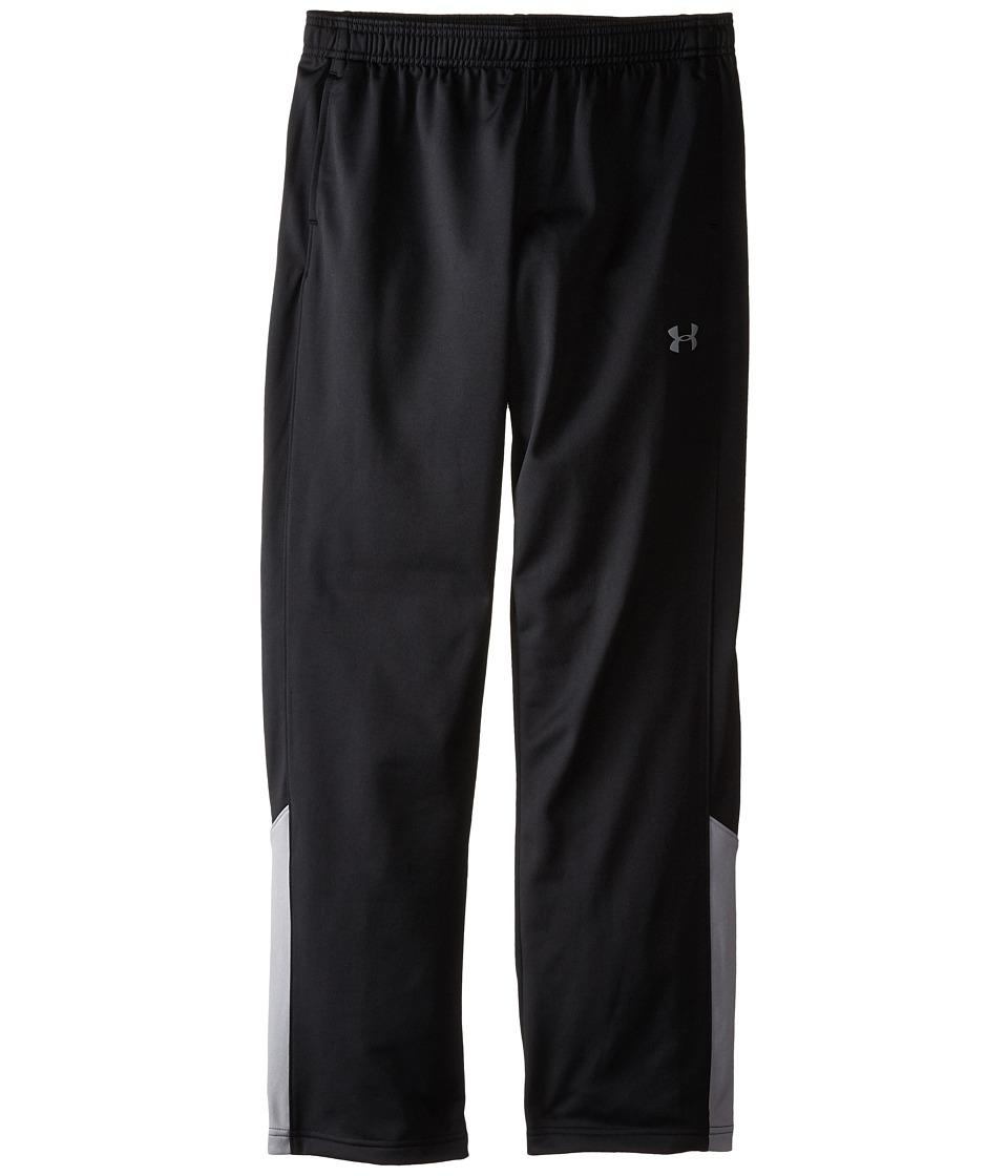 Under Armour Kids - UA Brawler 2.0 Pants (Big Kids) (Black/Steel) Boys Casual Pants