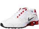 Nike Shox NZ (White/University Red/Black/Metallic Silver)