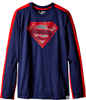 Under Armour Kids - UA Alter Ego Superman Reflective Long Sleeve T-Shirt (Big Kids)