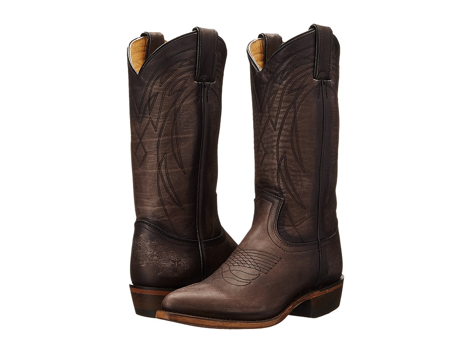 Frye Billy Pull On Smoke Washed Oiled Vintage Cowboy Boots