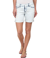 DKNY Jeans - Rip and Repair Bleecker Boyfriend Shorts in Sky Wash