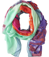 San Diego Hat Company - BSS1302 Multicolor Watercolor Floral Print Scarf