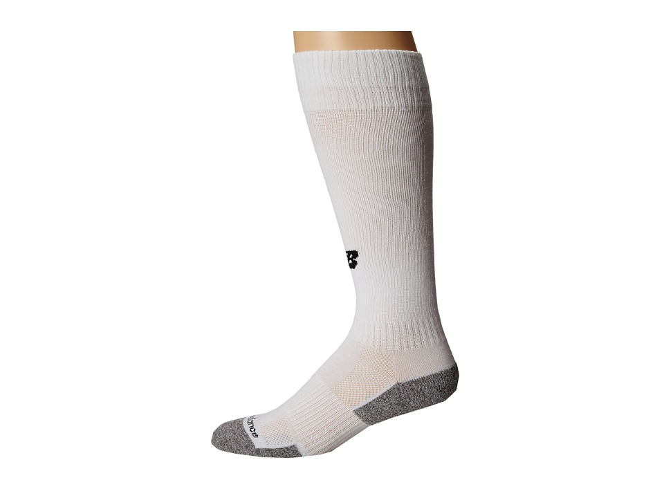 New Balance - All Sport Over The Calf Tube (White) Crew Cut Socks Shoes