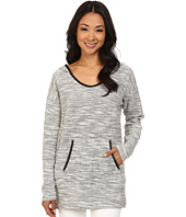 DKNY Jeans - Textured Hoodie Tunic
