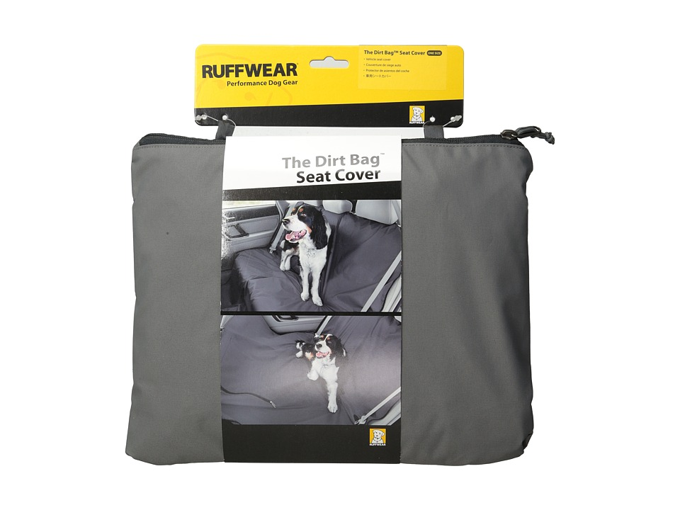 Ruffwear Dirt Bag Seat Cover Granite Gray Dog Accessories