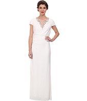 Vince Camuto - Ity Gown with Cap Sleeve and Beading