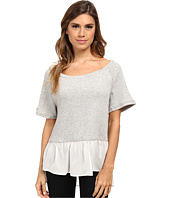 Dylan by True Grit - Short Sleeve Raglan w/ Vint Georgette