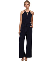 Vince Camuto - Sleeveless Jumpsuit with Keyhole Front and Back
