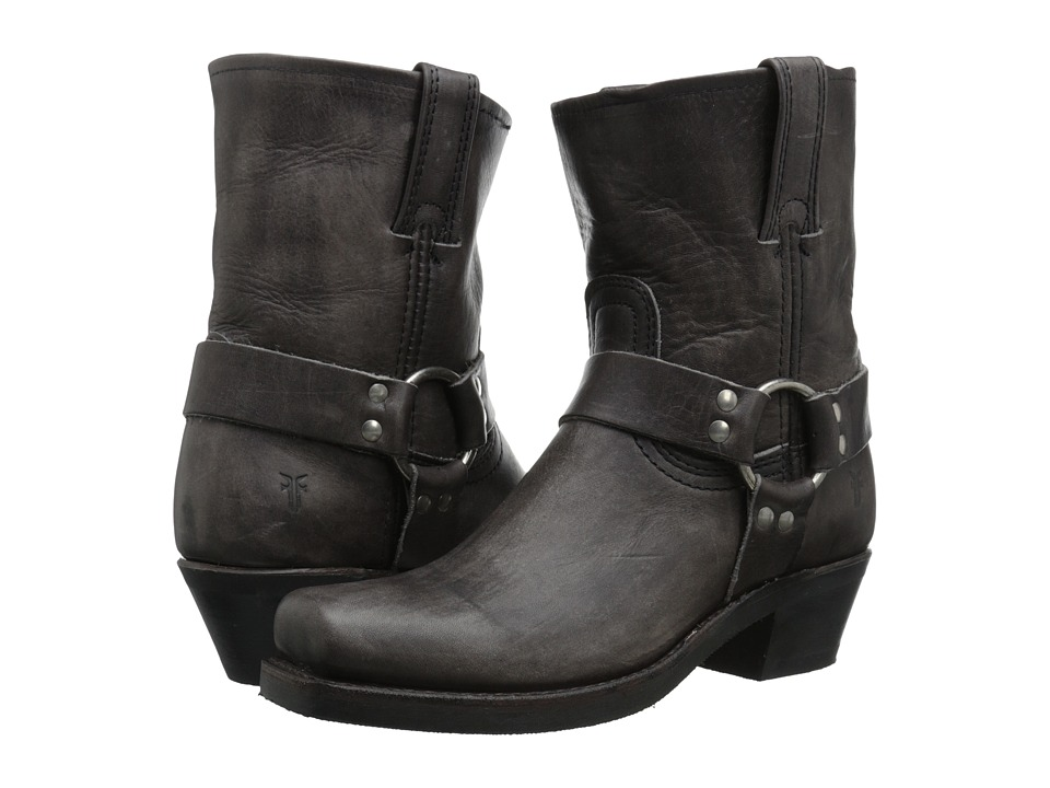 Frye - Harness 8R (Smoke Washed Oiled Vintage) Women's Pull-on Boots
