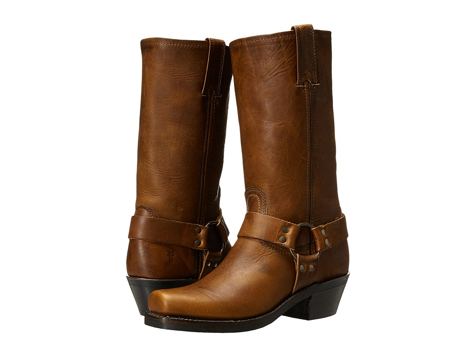 Frye Harness 12R (Cognac Washed Oiled Vintage) Women's Pull-on Boots