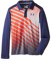 Under Armour Kids - UA Path Long Sleeve Polo (Big Kids)