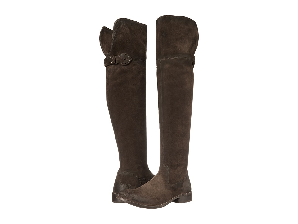 Frye - Shirley Over-The-Knee Riding (Fatigue Oiled Suede) Women