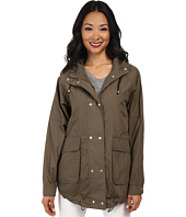 Vince Camuto - Hooded Rugged Urban Coat w/ Removable Hood