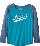 Under Armour Kids - UA Impulse Long Sleeve Raglan (Big Kids)