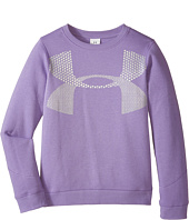 Under Armour Kids - UA Charged Cotton® Metallic Crew (Big Kids)