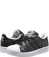 adidas Originals Kids - Superstar - Contrast Stitch (Little Kid)